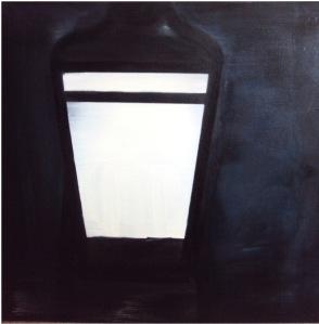 Alma Bakiaj, Untitled, 70x70cm, oil on canvas, 2013